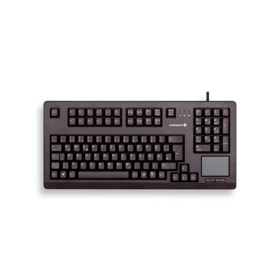 CHERRY TouchBoard G80-11900 Tastatur USB QWERTY US Englisch Schwarz