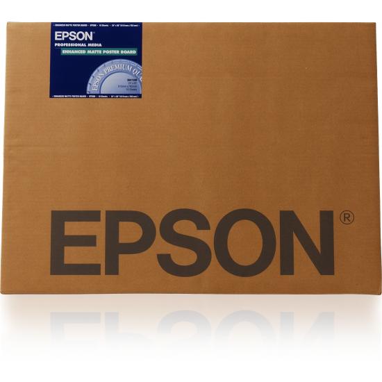 Epson Enhanced Matte Posterboard, 30 Zoll x 40 Zoll, 1.130 g/m², 5 Blatt