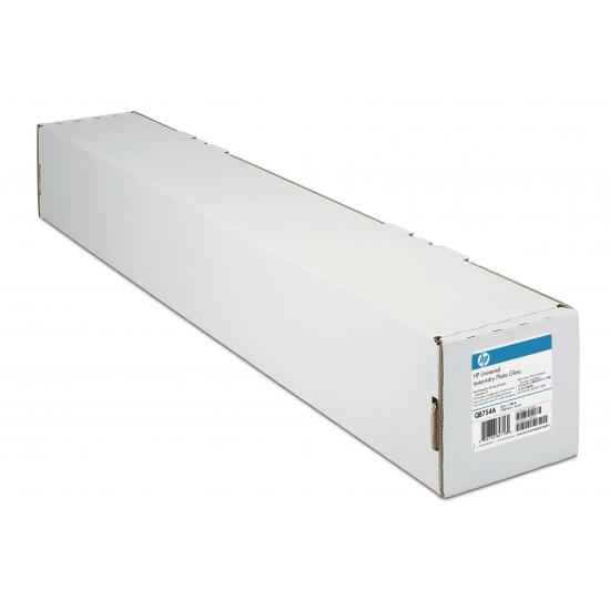 HP Universal Instant-dry Gloss Photo Paper 190 gsm-1067 mm x 30.5 m (42 in x 100 ft) Fotopapier Braun, Weiß