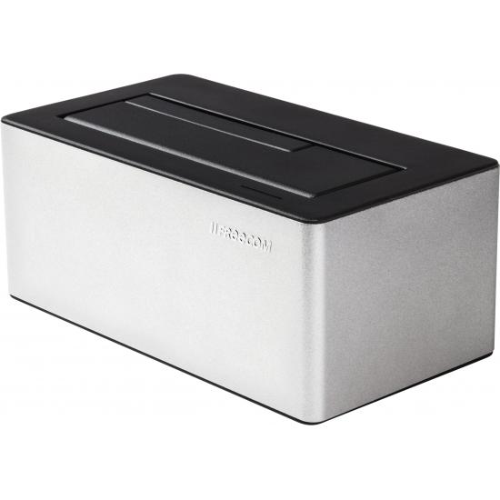 Freecom mDOCK 3.0 Verkabelt USB 3.2 Gen 1 (3.1 Gen 1) Type-A Schwarz, Silber