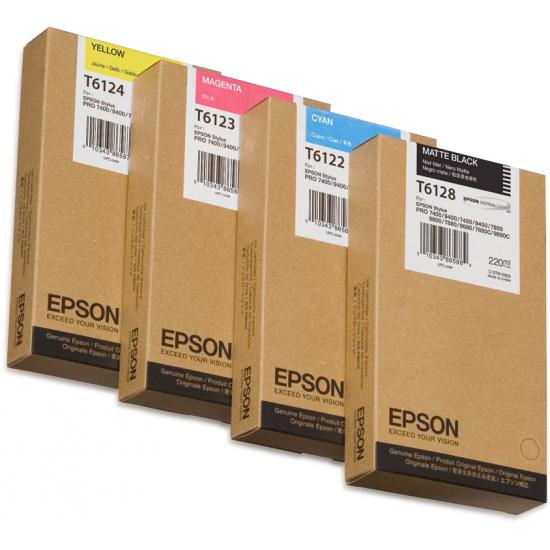 Epson Singlepack Magenta T612300, 220 ml