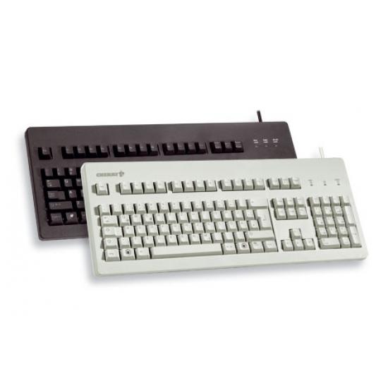 CHERRY Standard PC keyboard G80-3000 USB, PS-2 Tastatur USB + PS/2 QWERTY Schwarz