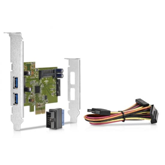 HP 663213-001 Schnittstellenkarte/Adapter USB 3.2 Gen 1 (3.1 Gen 1) Eingebaut