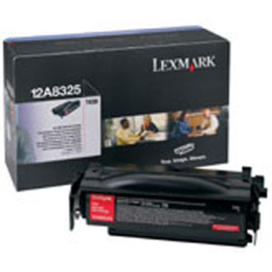 Lexmark T430 High Yield Print Cartridge Original Schwarz