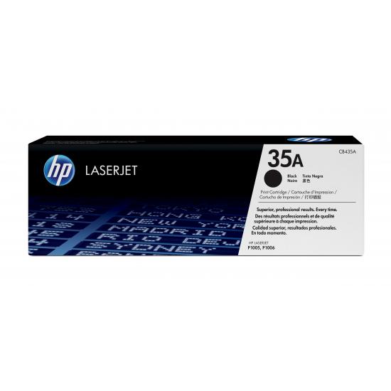 HP 35A Original Schwarz 1 Stück(e)