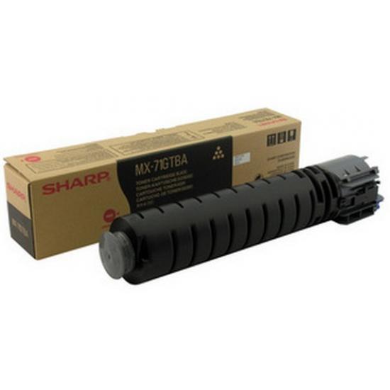 Sharp MX-71GTBA Tonerkartusche 1 Stück(e) Original Schwarz