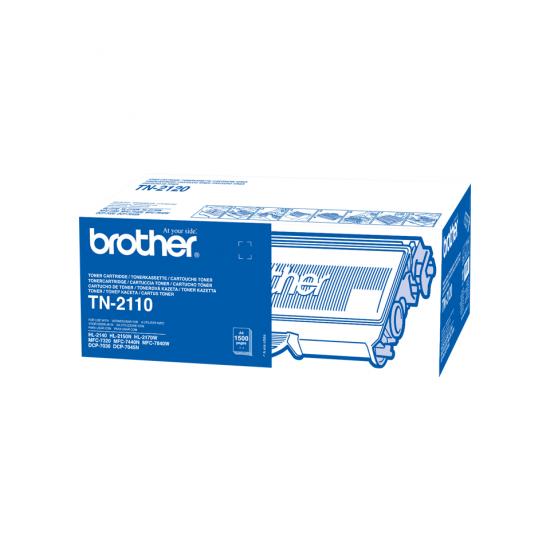 Brother TN-2110 Tonerkartusche 1 Stück(e) Original Schwarz