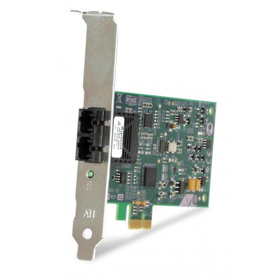 Allied Telesis 100FX Desktop PCI-e Fiber Network Adapter Card w/PCI Express, Federal & Government 100 Mbit/s