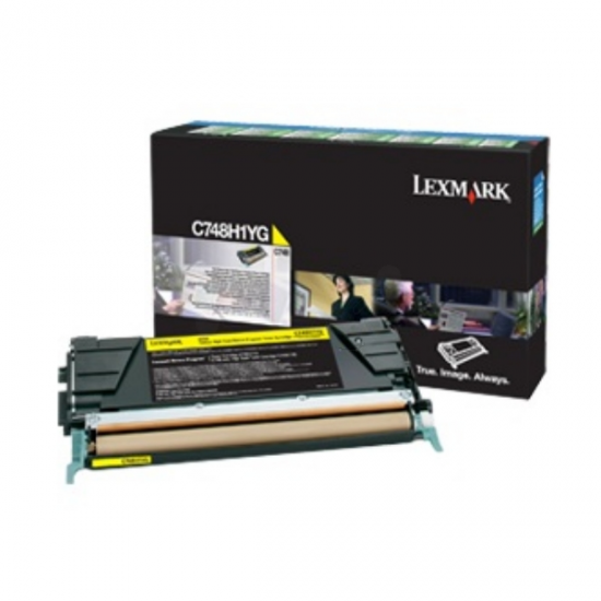 Lexmark C748H3YG Tonerkartusche 1 Stück(e) Original Gelb