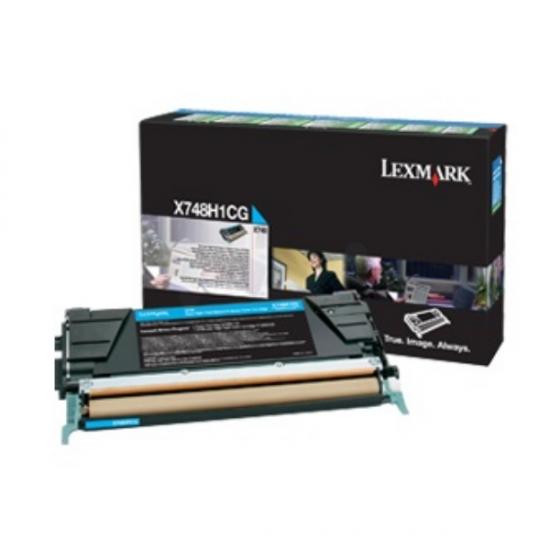 Lexmark X748H3CG Tonerkartusche 1 Stück(e) Original Cyan