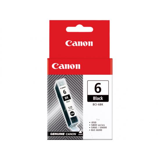 Canon BCI-6 BK Original Schwarz 1 Stück(e)