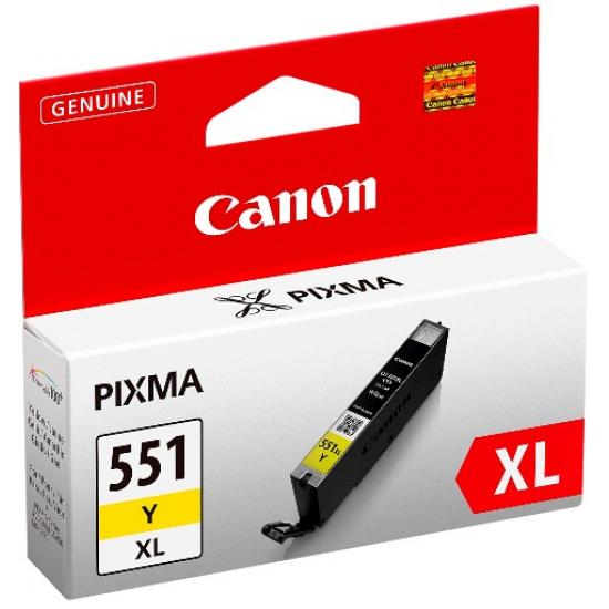 Canon CLI-551XL Y w/sec Original Gelb 1 Stück(e)