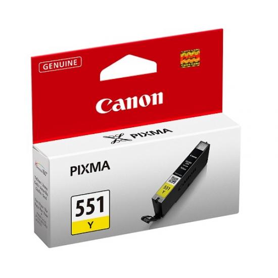 Canon CLI-551 Y Original Gelb 1 Stück(e)