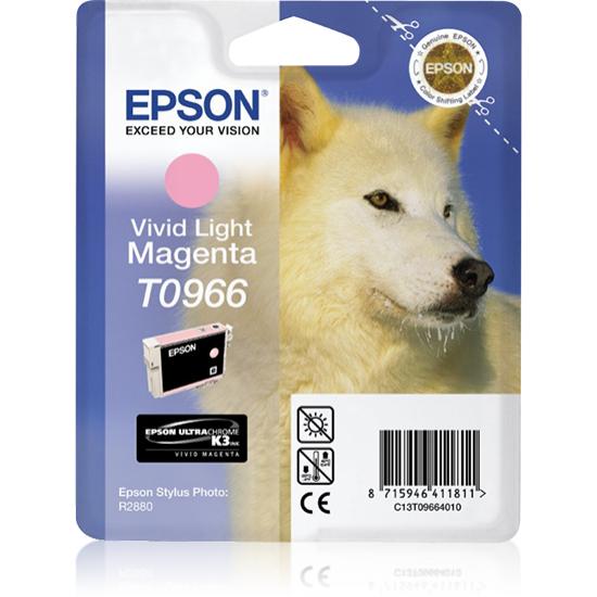 Epson Husky Singlepack Vivid Light Magenta T0966