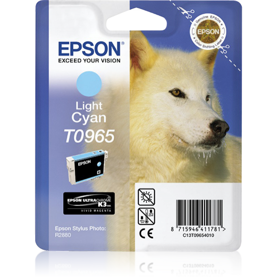 Epson Husky Singlepack Light Cyan T0965
