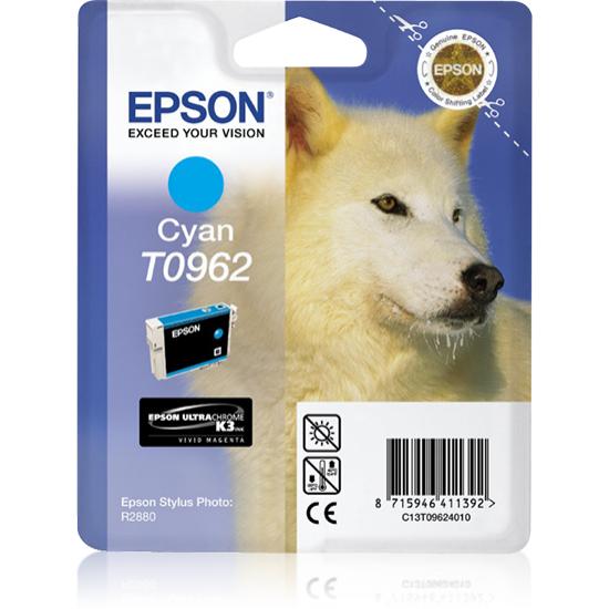 Epson Husky Singlepack Cyan T0962