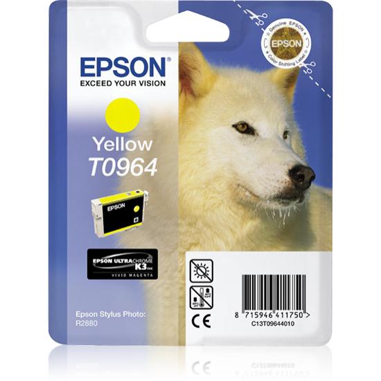 Epson Husky Singlepack Yellow T0964