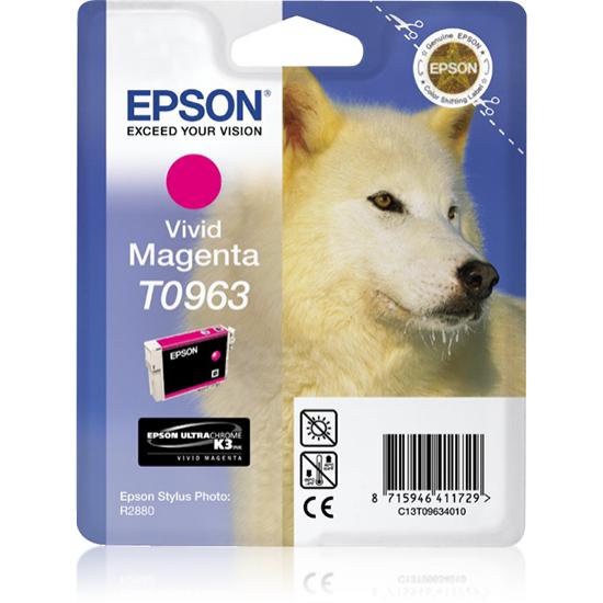 Epson Husky Singlepack Vivid Magenta T0963