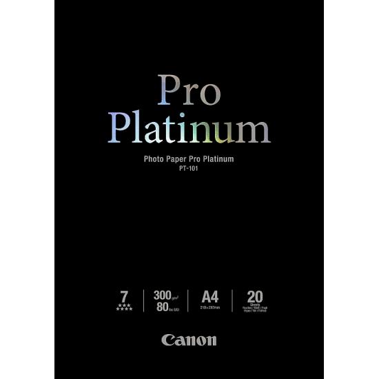 Canon PT-101 Fotopapier Schwarz Hoch-Glanz