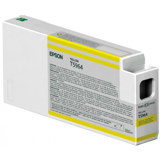 Epson Singlepack Yellow T596400 UltraChrome HDR, 350 ml