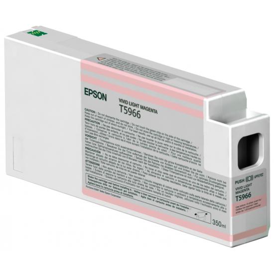Epson Singlepack Vivid Light Magenta T596600 UltraChrome HDR, 350 ml