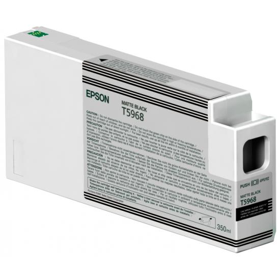 Epson Singlepack Matte Black T596800 UltraChrome HDR, 350 ml