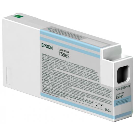Epson Singlepack Light Cyan T596500 UltraChrome HDR, 350 ml