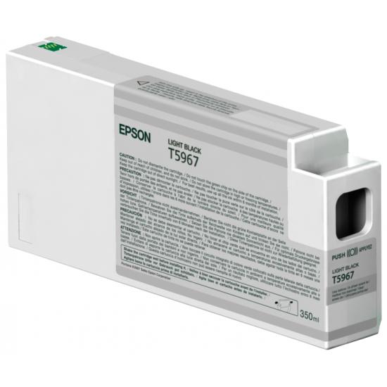 Epson Singlepack Light Black T596700 UltraChrome HDR, 350 ml