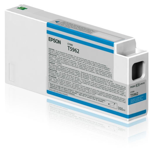 Epson Singlepack Cyan T596200 UltraChrome HDR, 350 ml