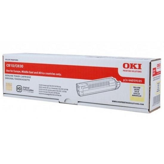 OKI 44059105 Tonerkartusche Original Gelb 1 Stück(e)