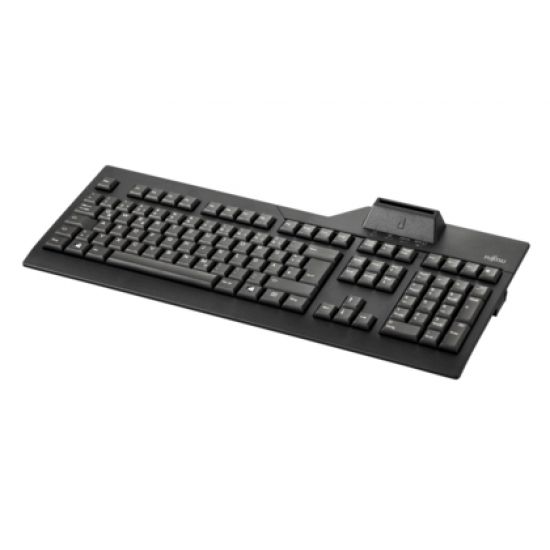 Fujitsu KB SCR Tastatur USB Schwarz
