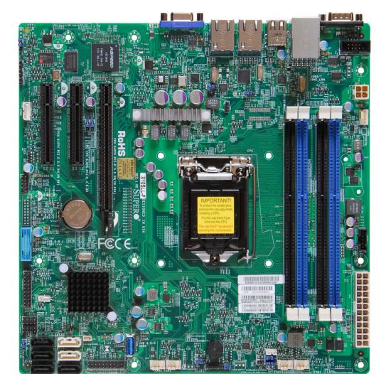 Supermicro X10SLL-F Intel C222 Express LGA 1150 (Socket H3) micro ATX