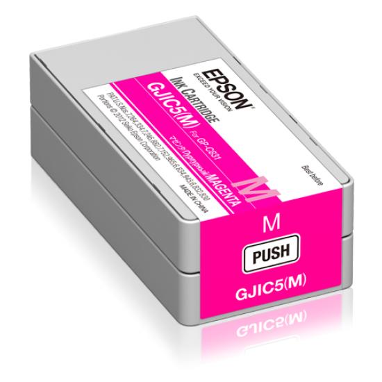 Epson GJIC5(M): Ink cartridge for ColorWorks C831 (Magenta) (MOQ=10)