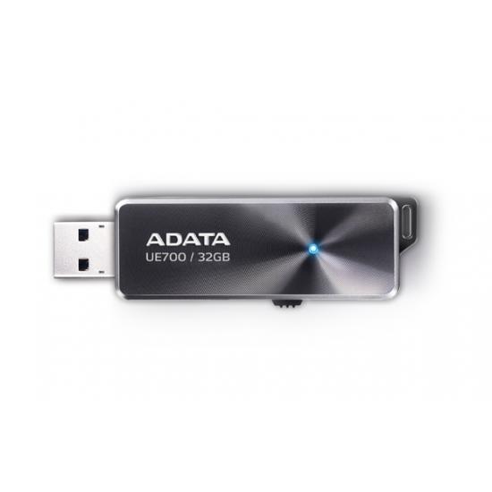 Fujitsu ADATA DashDrive Elite UE700, 32GB USB-Stick USB Typ-A 3.2 Gen 1 (3.1 Gen 1) Schwarz