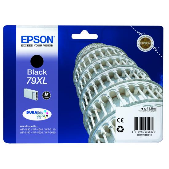 Epson Tower of Pisa Tintenpatrone 79XL Black