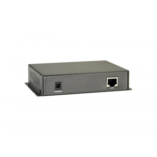 LevelOne PFE-1101T Netzwerk-Erweiterungsmodul Netzwerksender Schwarz