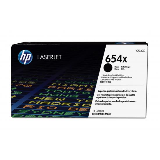 HP 654X Original Schwarz 1 Stück(e)