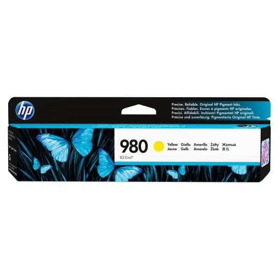 HP 980 Original Gelb 1 Stück(e)