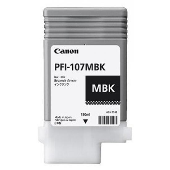 Canon PFI-107MBK Original Mattschwarz 1 Stück(e)