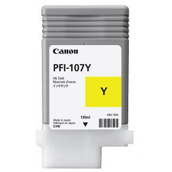 Canon PFI-107Y Original Gelb 1 Stück(e)