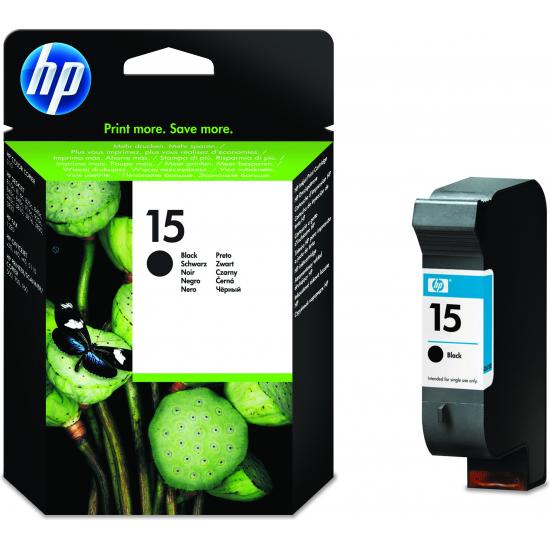 HP 15 Original Schwarz 1 Stück(e)