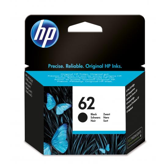 HP 62 Original Schwarz Standardertrag