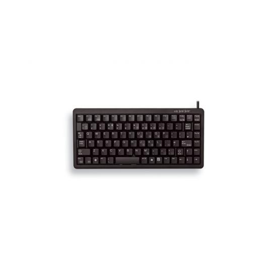 CHERRY G84-4100 Tastatur USB QWERTY Nordischer Raum Schwarz