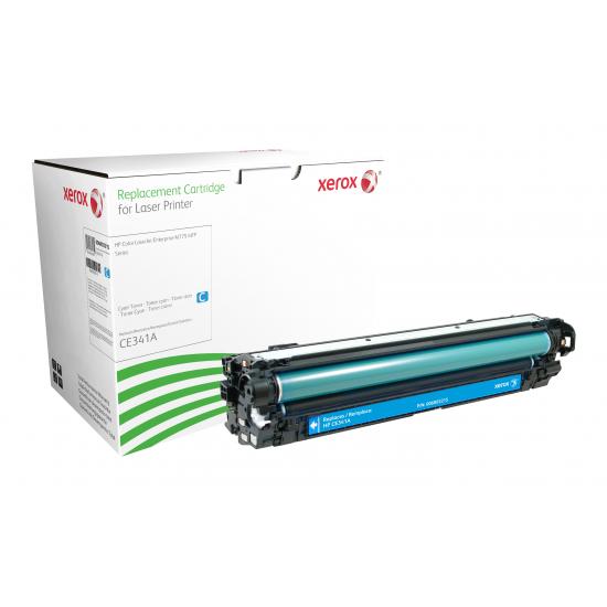 Xerox Tonerpatrone Cyan. Entspricht HP CE341A. Mit HP Colour LaserJet M775 kompatibel B-Ware