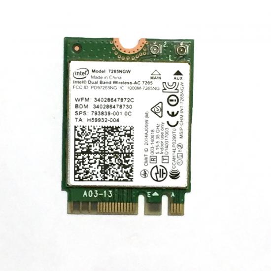 Intel 7265.NGWG.W Netzwerkkarte WLAN / Bluetooth 867 Mbit/s Eingebaut