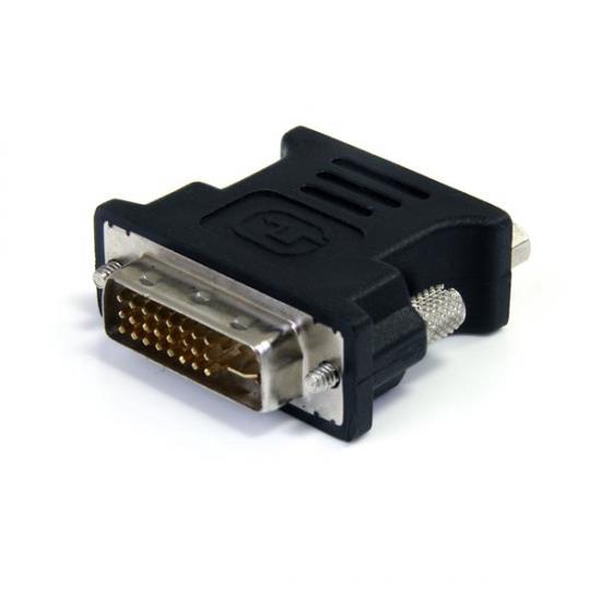 StarTech.com DVI auf VGA Adapter - DVI-I zu VGA Kabel Adapter St/Bu - Schwarz - 10er Pack