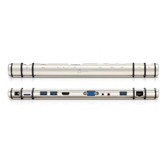 j5create JUD530 Handy-Dockingstation Tablet Silber