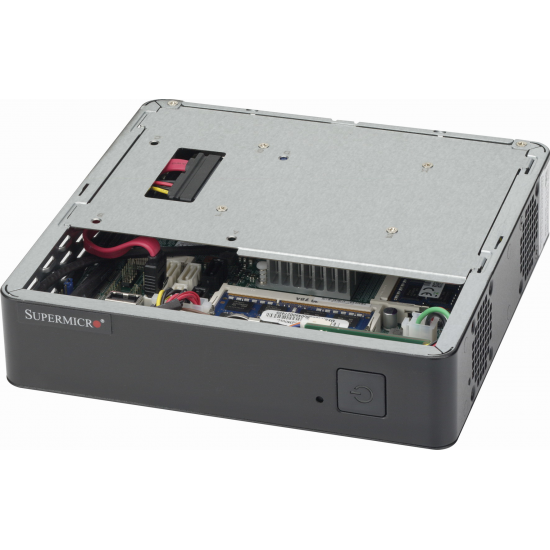 Supermicro CSE-101S Computer-Gehäuse Rack Schwarz