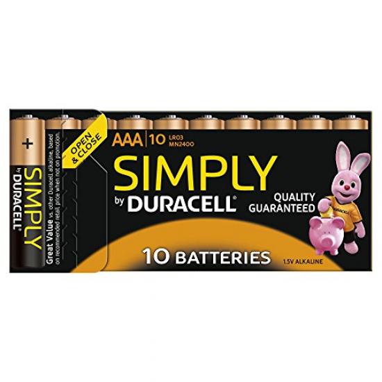 Duracell 5000394111905 Haushaltsbatterie Einwegbatterie AAA Alkali
