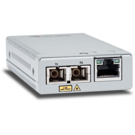 Allied Telesis AT-MMC2000/SC-60 Netzwerk Medienkonverter 1000 Mbit/s 850 nm Multi-Modus Silber
